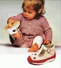 Первая детская обувь