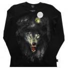 Толстовка волк светится