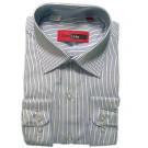 Рубашка в широкую полоску