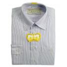 Рубашка светлая полоска