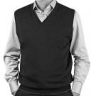 Обманка серый жилет с серой рубашкой