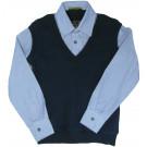 Обманка рубашка с жилетом
