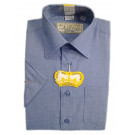 Рубашка короткий рукав голубая